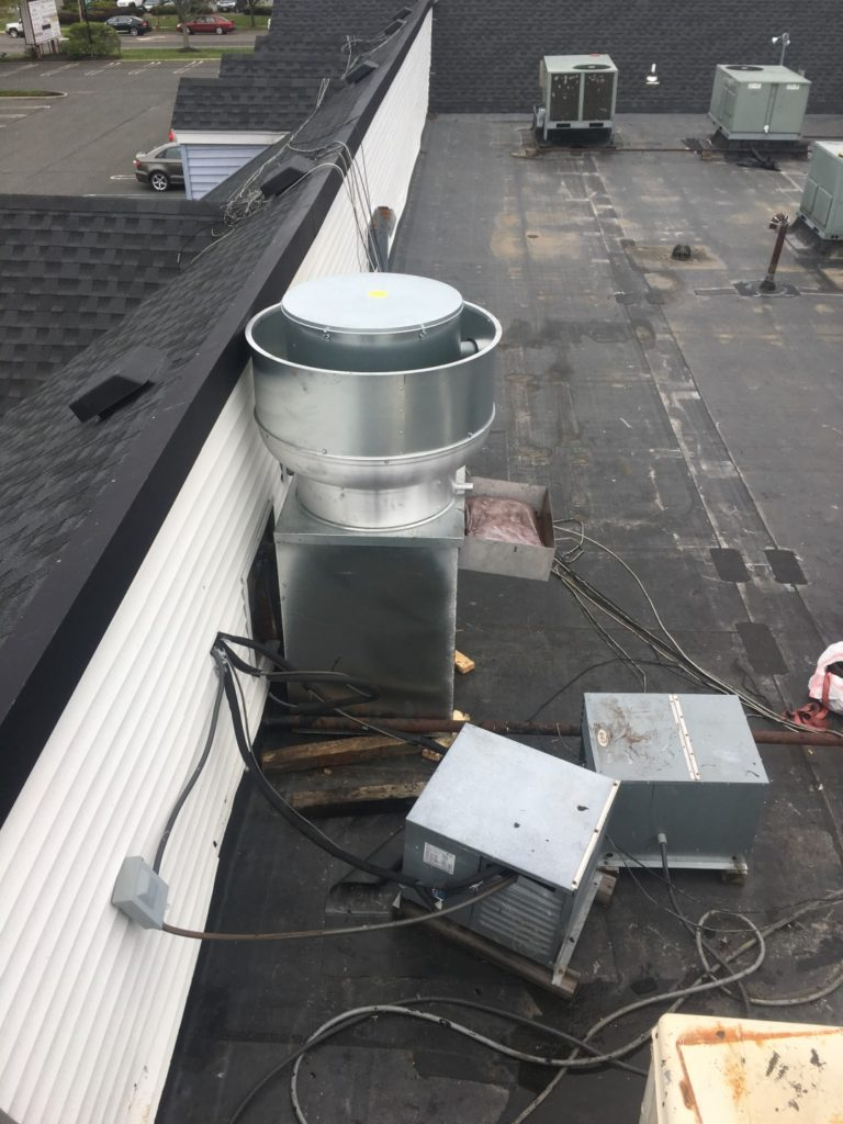 Restaurant Exhaust Fan Installation Commercial Kitchen